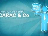 Émission Carac & Co : tutoriels pour la création de perso, trucs et astuces