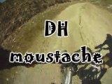 vtt tignes 2011  DH MOUSTACHE et DH BLACK METAL avec lolo-rs a la cam