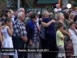 Russie : hommage aux victimes de Beslan - no comment