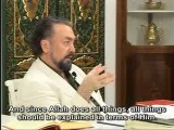 If one says ''I did something,'' that is polytheism, what he should say is ''Allah did it by means of me'
