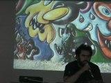 La conférence de Jean-Marc Scotti : peinture murale...