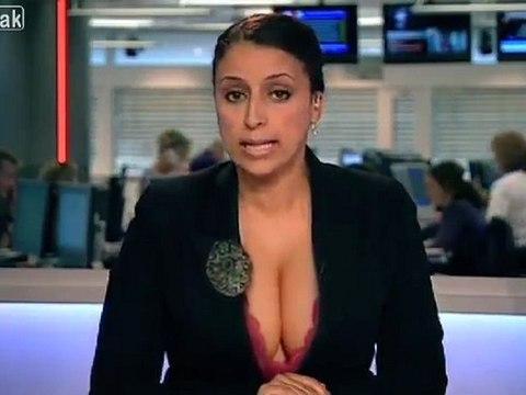 Niederländische Nachrichtensprecherin