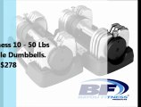 Best Adjustable Dumbbells Company