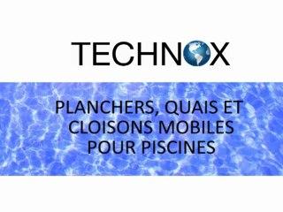 TECHNOX - Planchers, quais et cloisons mobiles pour piscine.