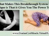 treatment for ovarian cyst - ovarian cyst miracle - polycystic ovaries treatment