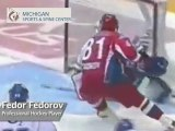 Fedor Fedorov - Pro Hockey Player - His View on His Favorite