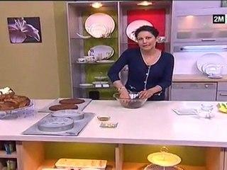Recette pas cher - Cake chocolat au datte et noix