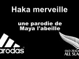XV Parodial : Haka merveille parodie rugby de maya l'abeille sur le haka des all blacks