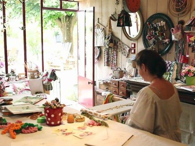 Dans l'atelier de Cécile Franconie