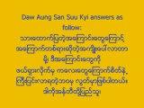 Daw Aung San Suu Kyi on How to overcome FEAR