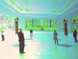 Londres: David Hockney présentes ses tableaux réalisés sur iPad