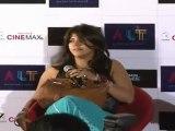 Ekta Kapoor Avoids Tusshar Kapoor At First Look Release Of 'Ragini MMS'