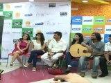 "Very Hot & Sexy Babe In Pink Dress At First ""Bhindi Bazaar"" Press Meet"