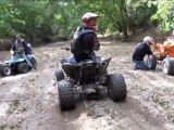 riding quads at white river