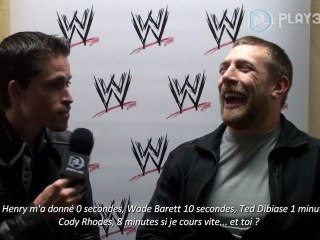 Interview de Daniel Bryan de WWE 12