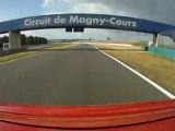 Circuit F1 Magny Cours 20 ans Clio 16S Petit Jean juin 2011