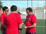 Torneig de futbol amb els nins sahrauís