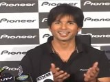 Shahid Kapoor launches new prodect of Pioneer