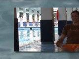 Clases acuáticas preparto. Actividad acuática