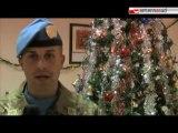 Gli auguri dei soldati italiani all'estero