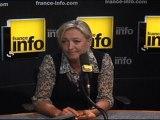 """Marine Le Pen: """"Il faut peut-être nationaliser les banques"""""""