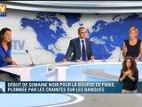 Les banques françaises  plombées en Bourse