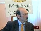 TG 18.12.09 Criminalità organizzata a Bari, in diminuzione furti, scippi e rapine
