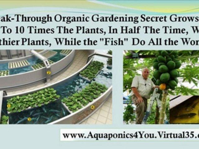 hydroponics gardening – aquaponics made easy – home aquaponics
