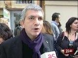 TG 22.02.10 Accolto dagli applausi a Roma, Vendola sprona il Pd