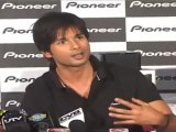Shahid Kapoor launches new product of Pioneer