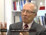 """Jacques Delors : """"l'esprit communautaire est le chaînon..."""