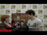 SDCC 2011- Merlin - Interview Colin Morgan ComicsOnline