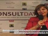 CANALCE - Sandrine LEGRAND, Fondatrice et Présidente - Intervenant au Salon CONSULT DAY 2011