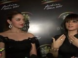 Hot & Sexy Eisha Deol Looks Sexy In Black Off Shoulder Gown At Blender Pride Fashion Show