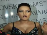 Sexy Celina Jaitly Shows Her Sexy Huge Cleavage At Swarovski Gems Fashion Show
