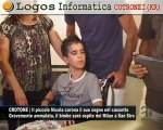 CN24 | CROTONE | Il piccolo Nicola corona il suo sogno nel cassetto