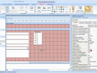 Visionnez les Cours Vidéo de Comprendre l'objet formulaire dans Microsoft Access