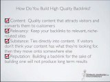 High Quality Backlinks to Increase Visitors and Page Rank | SEO Link Building | How To Build Backlinks