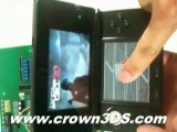Crown3DS - Worlds First Real 3DS Flashcard Playing 3DS Games