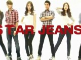 STAR JEANS of Super Junior & SNSD commercial