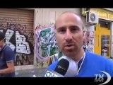 """Calabria, cleaning party per dire basta ai """"graffiti selvaggi"""". Volontari contro i writers abusivi: arte sì, ma nelle regole"""