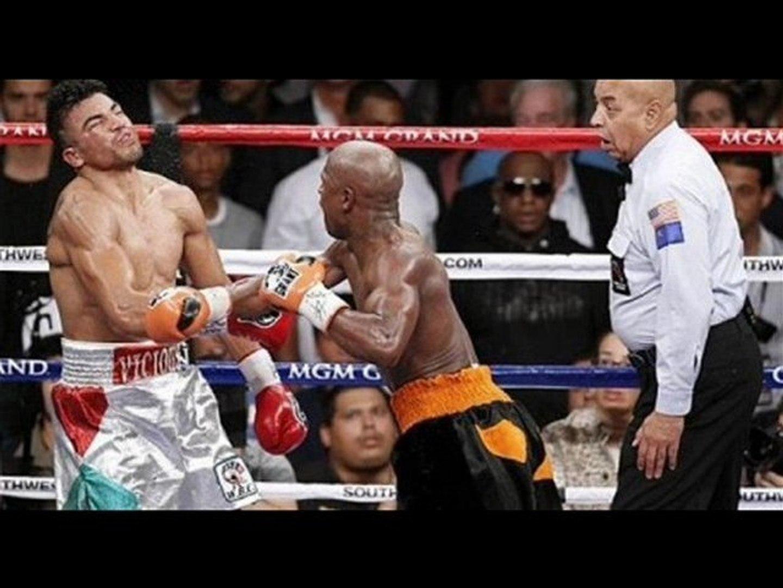 Mayweather Jr vs Ortiz Full Fight Video