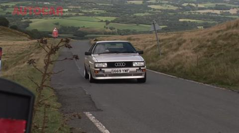 Audi TT RS meets Audi Quattro