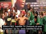 Mayweather Ortiz weigh-in  Gay act Gay Kiss ?