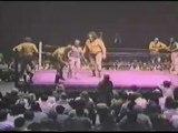 Mil Mascaras, Andre the Giant & JYD vs Gino Hernandez, Tully Blanchard & Killer Khan.