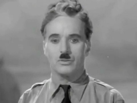 Charlie Chaplin's Ansprache