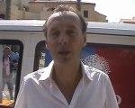 Michel PY, Maire de Leucate, Conseiller Régional et Secrétaire Départemental UMP Aude, Leucate 17/09/2011