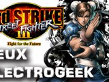 "Jeux Electrogeek 89 test ""Street Fighter 3: third strike online edition"" [XBOX360/PS3]"