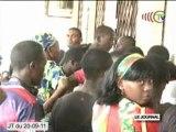 Enquête menée à la scolarité et au rectorat de l'université Marien Ngouabi