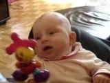 Cathy et le clown 31 juillet 2006